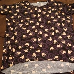 XL Minnie Mouse LuLaRoe Irma
